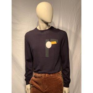 Navy blue H&M sweater